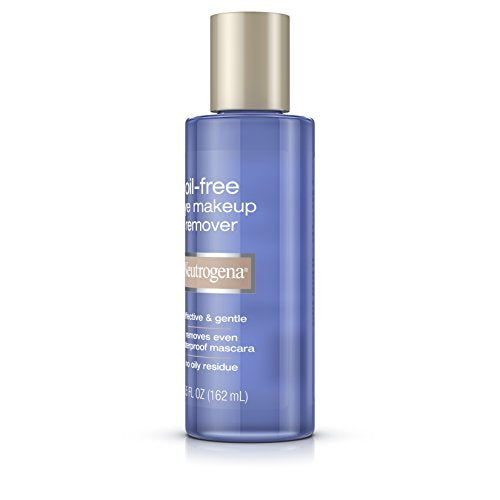 Neutrogena Oil-Free Eye Makeup Remover, 5.5 Fl. Oz : Beauty