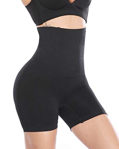 MISS MOLY Women High Waist Trainer Tummy Control Panties Thigh Slimmer Brief Shapewear at Amazon Women's Clothing store: