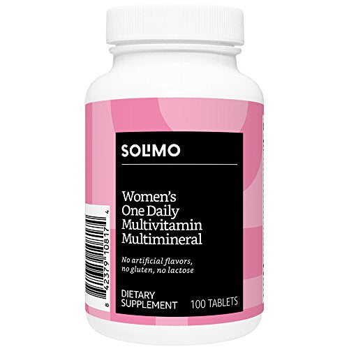 Solimo Women's One Daily Multivitamin Multimineral, 100 Tablets, Three Month Supply: Gateway