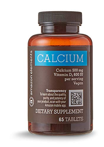 Elements Calcium 500mg plus Vitamin D, One Daily, 65 Tablets, 2 month supply: Gateway
