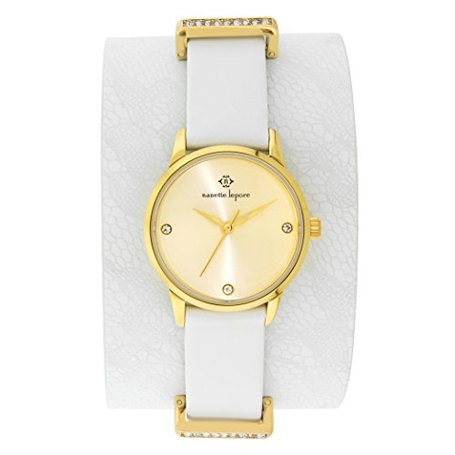 Nanette Lepore White Cuff Watch: Clothing