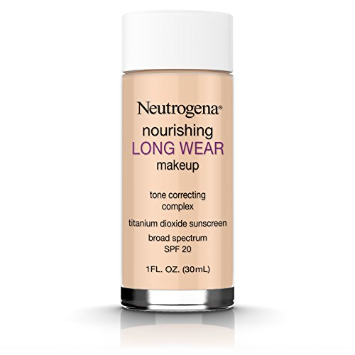 Neutrogena Nourishing Long Wear Liquid Makeup Foundation With Sunscreen, 60 Natural Beige, 1 Fl. Oz. : Beauty