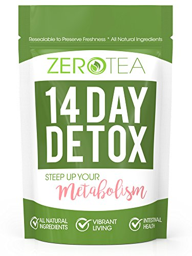 Zero Tea 14 Day Detox Tea, Weight Loss Tea, Teatox Herbal Tea for Cleanse: Gateway