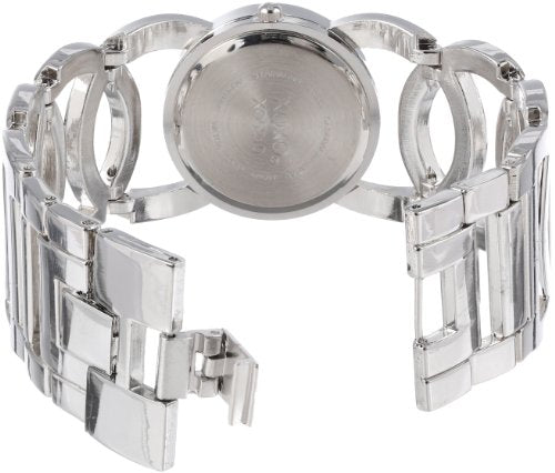 XOXO Women's XO5210 Silver-Tone Watch with Link Bracelet: Clothing