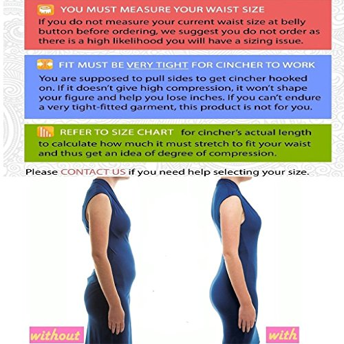 SAYFUT Waist Trainer, Corset Cincher Body Slimmer Shaper Tummy Control for Women at Amazon Women's Clothing store: