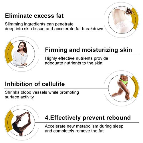 Cellulite Cream - 250g Body Slimming Firming Cream Fat Burner Hot Cream for Tightening Skin Body Shaper : Beauty