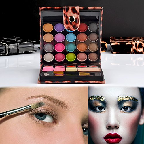 Ecvtop Professional Makeup Kit Eyeshadow Palette Lip Gloss Blush Concealer, 29 Color : Beauty