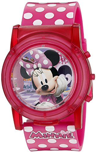 Disney Minnie Mouse Boutique LCD Pop Musical Watch (Model: MBT3714SR): Gateway