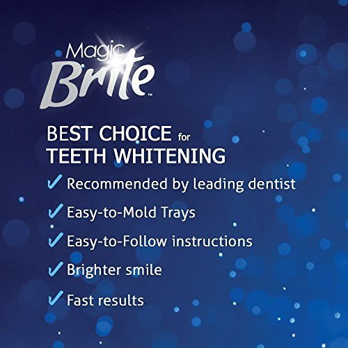 MagicBrite Complete Teeth Whitening Kit At Home Whitening : Beauty