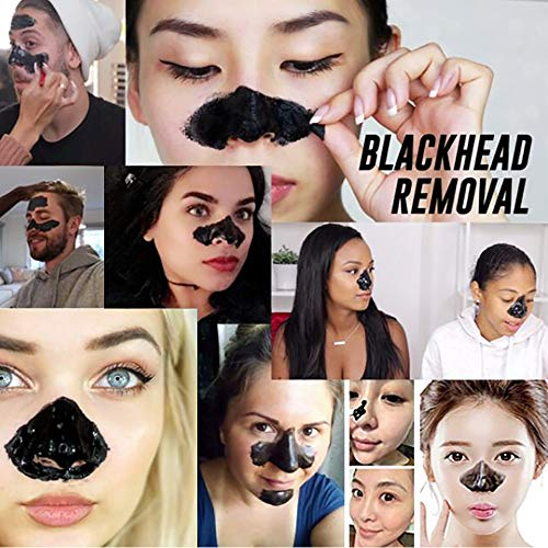 WUXIAN Blackhead Remover Mask, Black Mask, Charcoal Peel Off Mask, Deep Cleansing Facial Mask for Face & Nose For All Skin Types : Beauty