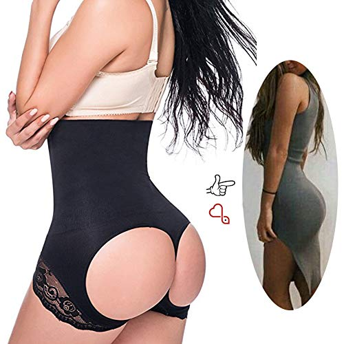 Jaosn&Helen Women's Butt Lifter Shaper Seamless Tummy Control Hi-Waist Thigh Slimmer at Amazon Women's Clothing store: