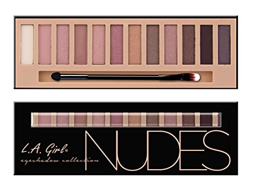 L.A. Girl Beauty Brick Eyeshadow, Nudes, 0.42 Ounce : Gateway