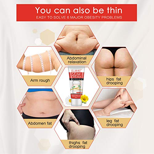 Hot Cream, Extreme Cellulite Slimming & Firming Cream, Body Fat Burning Massage Gel Weight Losing, Hot Serum Treatment for Shaping Waist, Abdomen and Buttocks 60ml : Beauty