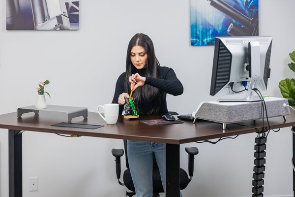 How to Stand Properly at a Standing Desk