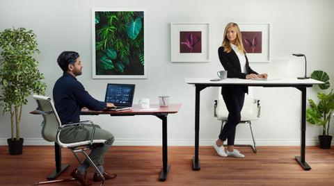 Standing desk shoes for woman and man