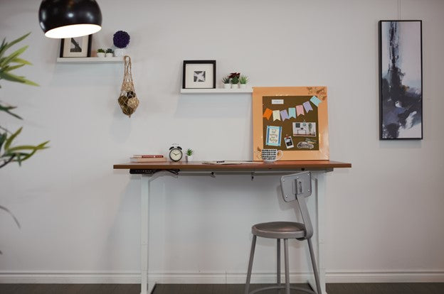 Standing desk for a children