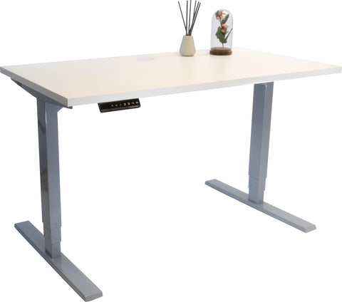 Image of the white standing desk by Progressive Desk