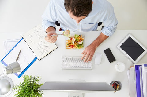 Healthy eating in the workplace to reduce work related stress