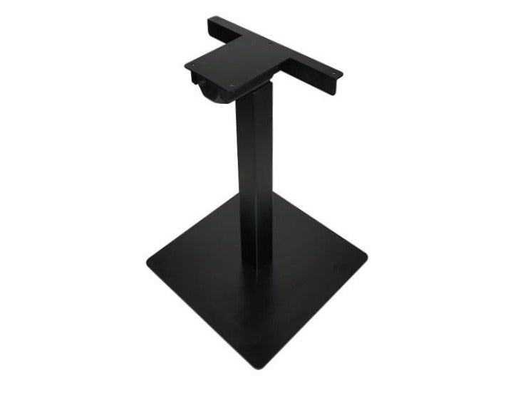Single Table Lift Frame w/ Base - Black