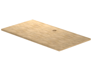 "Tabletop - 48"" x 30"" - Maple Woodline"
