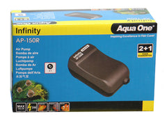 Aqua One Infinity Air Pump - AP150R (100LH)