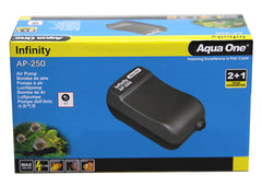 Aqua One Infinity Air Pump - AP250 (200LH)