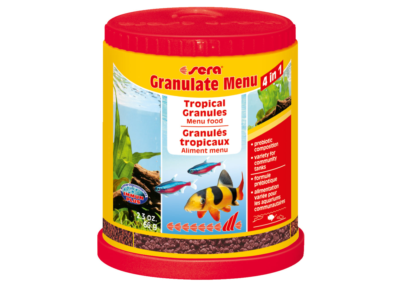 Sera Menu 4in1 Tropical Granules