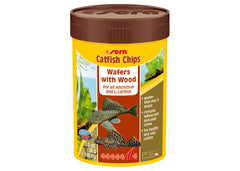 Sera Catfish Chips Wafers with Wood