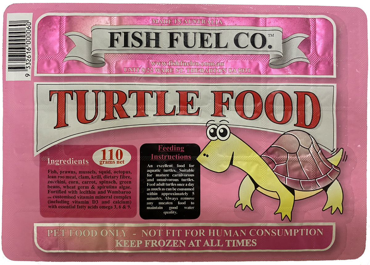 Fish Fuel Co. Frozen Turtle Food - 10 Pack