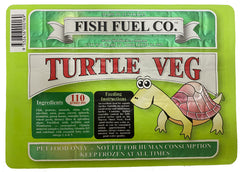 Fish Fuel Co. Frozen Turtle Veg Food - 10 Pack