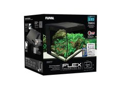 Fluval Flex Aquarium (34 Litres) - Black