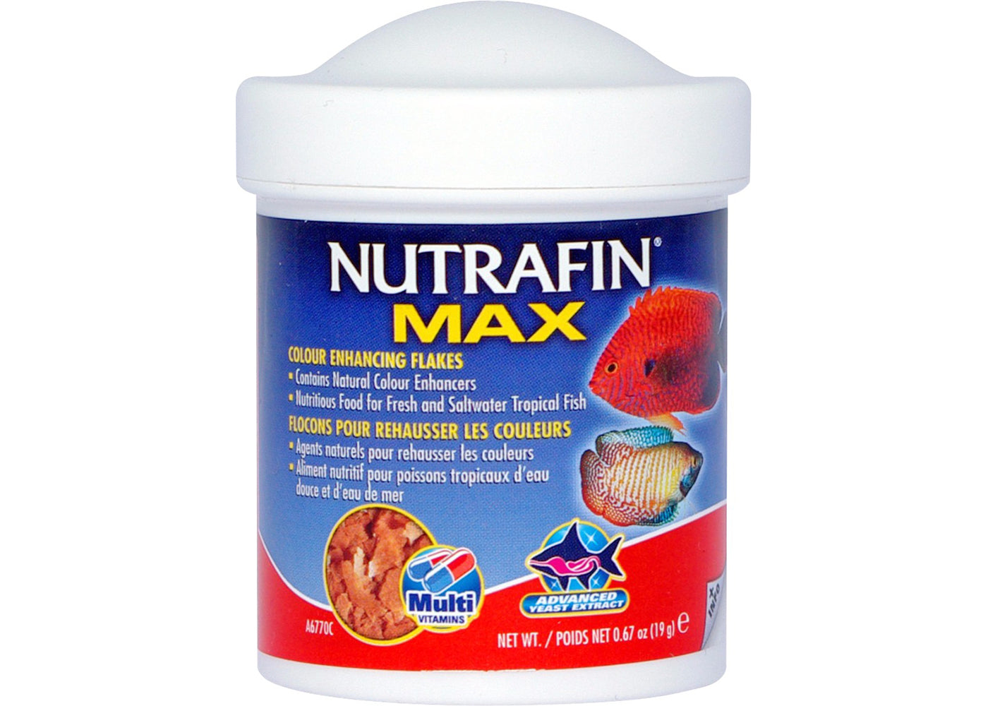 Nutrafin Max Colour Enhance Flake
