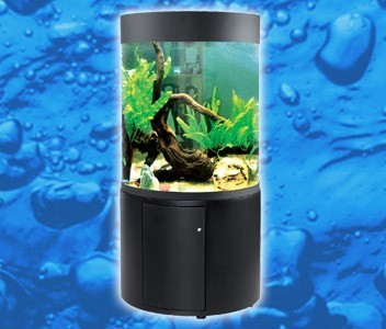 Oceanson O680 - 68cm Round Aquarium & Cabinet Set with Sump