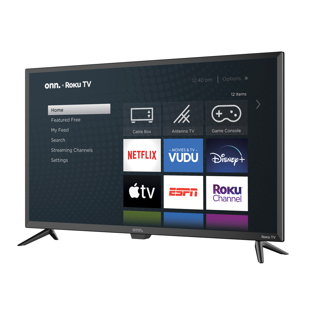 "onn. 32"" Class 720P HD LED Roku Smart TV"