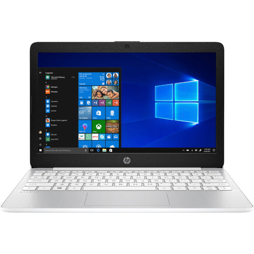 "HP Stream 11.6"" Laptop Intel Celeron 4GB Memory 64GB eMMC Flash Memory Diamond White"