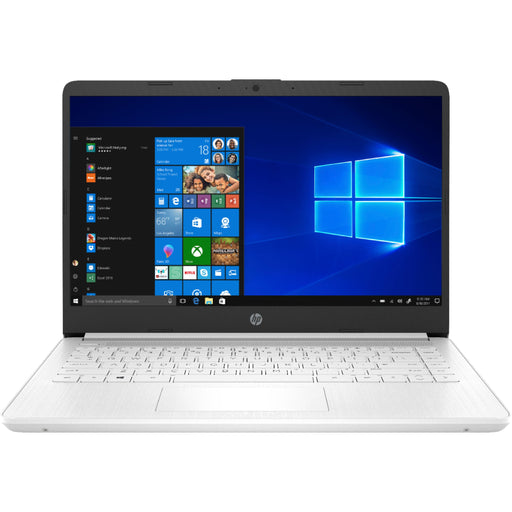 "HP 14"" Laptop Intel Celeron 4GB Memory 64GB eMMC Snowflake White"