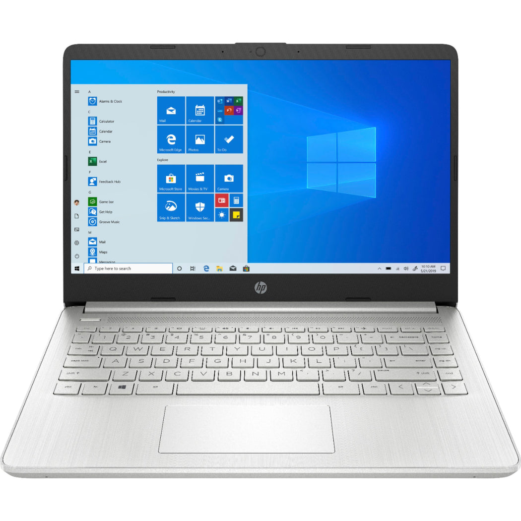 "HP 14"" Laptop Intel Celeron 4GB Memory 64GB eMMC Pale Gold 1YR Office 365"