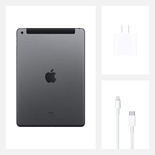 New Apple iPad (10.2-inch, Wi-Fi, 128GB) - Space Gray (Latest Model, 8th Generation)