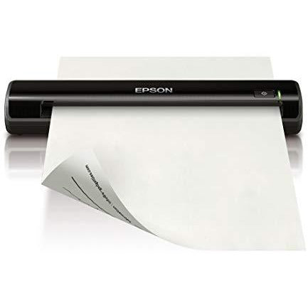 Epson WorkForce DS-30 Portable Document Scanner for PC and Mac, Sheet-fed, Mobile/Portable