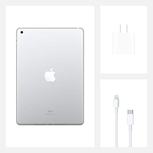 Apple 10.2-Inch iPad (Latest Model) with Wi-Fi 128GB Silver