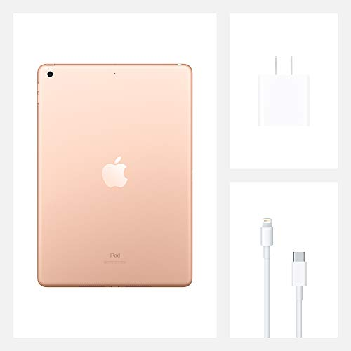 Apple 10.2-Inch iPad (Latest Model) with Wi-Fi 32GB Gold