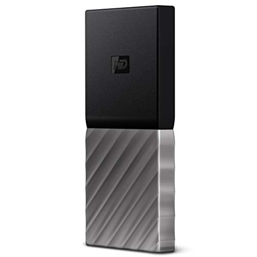 WD 512GB My Passport SSD Portable Storage USB 3.1 Black-Gray WDBKVX5120PSL-WESN
