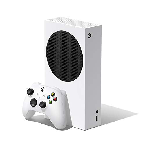 Microsoft Xbox Series S 512 GB All-Digital Console (Disc-free Gaming) White