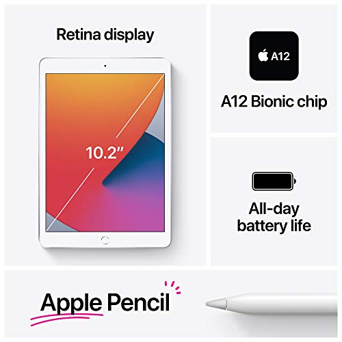 Apple 10.2-Inch iPad (Latest Model) with Wi-Fi 128GB Gold