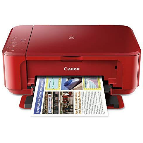 Canon PIXMA MG3620 Wireless All-In-One Color Inkjet Printer Mobile Printing Red