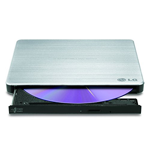 LG Electronics 8X USB 2.0 Super Multi Ultra Slim Portable DVD+/-RW External Drive w/M-DISC Support GP60NS50