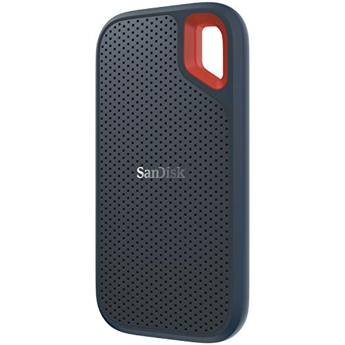 SanDisk 500GB Extreme Portable External SSD - Up to 550MB/s - USB-C, USB 3.1 - SDSSDE60-500G-G25