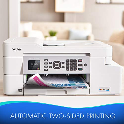 Brother MFC-J805DWXL Extended Print INKvestmentTank Color Inkjet All-in-One Printer with Mobile Device and Duplex Printing with Up To 2-Years of Ink In-box