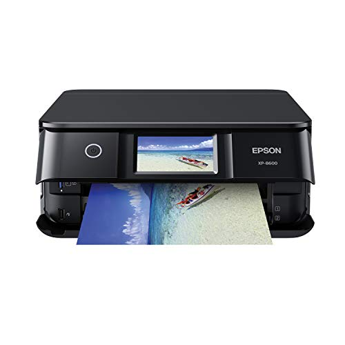 Epson Expression Photo XP-8600 Wireless Color Photo Printer, Scanner, & Copier Compact