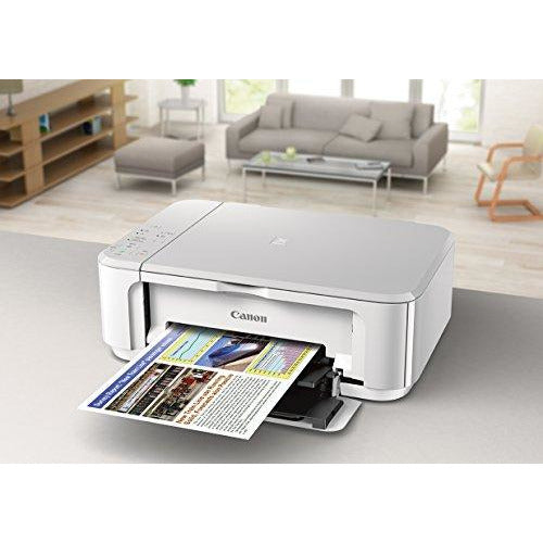 Canon PIXMA MG3620 Wireless All-In-One Color Inkjet Printer Mobile Printing White